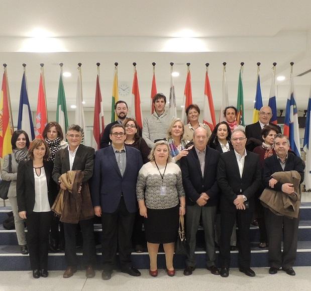 Cooperativas Agro-alimentarias de Granada en el parlamento europeo