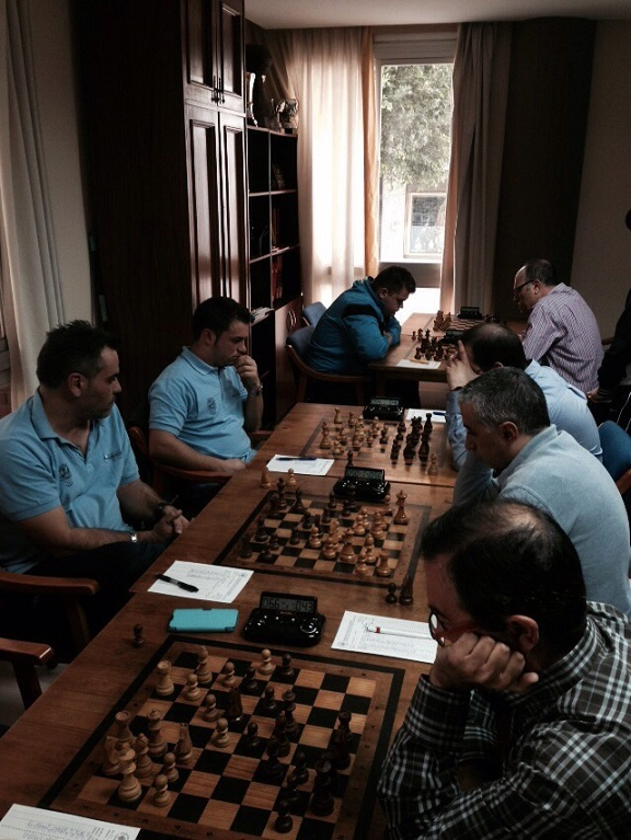 Jornada épica en las competiciones provincial y andaluza de ajedrez por equipos