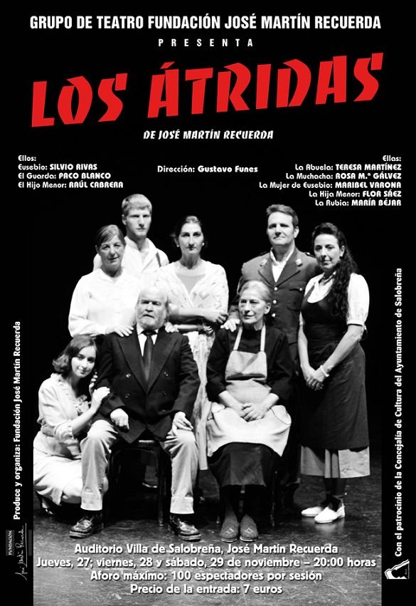 """El grupo de teatro de la Fundación Martín Recuerda pone en escena """"Los Átridas"""""""