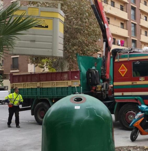 El Consistorio sexitano mejora el reciclado en varias zonas de Almuñécar y La Herradura