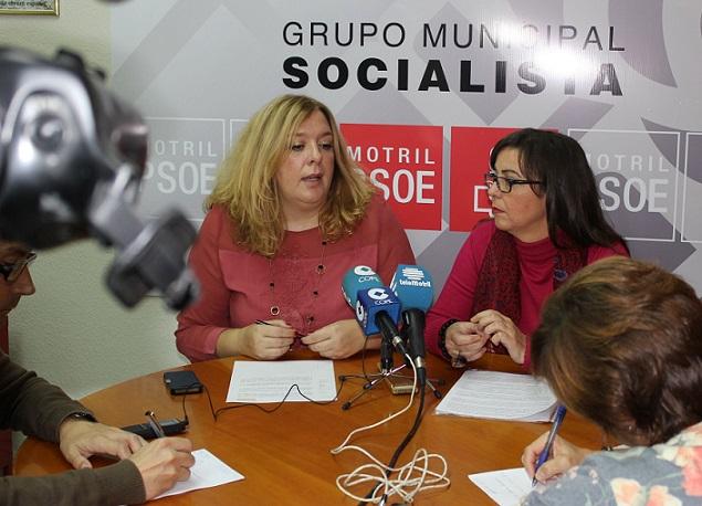 El PSOE insta al Ayuntamiento de Motril a que se comprometa a no reducir recursos, servicios ni presupuesto para combatir la violencia de género