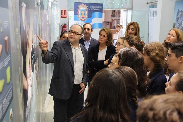 La Fundación Descubre exhibe desde hoy la exposición 'Cristales, un mundo por descubrir' en Motril