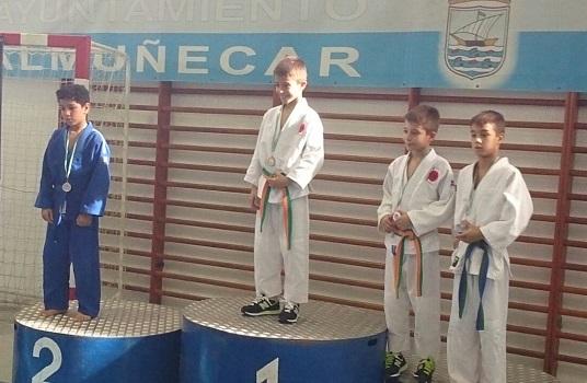 Los judokas sexitanos consiguieron 15 metales en el III Trofeos Costa Tropical