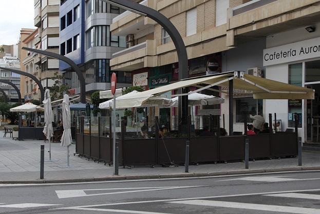 El Ayuntamiento de Motril abre el plazo para la solicitud de terrazas en establecimientos de hostelería