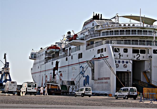 Dos personas detenidas en el puerto de Motril cuando portaban 272 kg de hachís