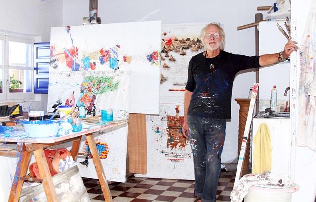 La Casa de la Cultura de Almuñécar acogerá una exposición de Rowland Fade