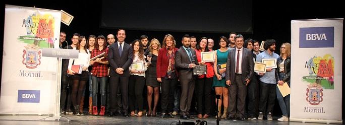 El teatro Calderón acoge la entrega de los premios Motril Joven Generación XXI