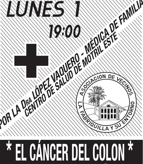 La Dra López Vaquero hablará del cáncer de colon y su prevención el lunes en el Colegio Garvayo Dinelli