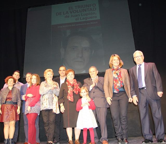 El Calderón acogió la puesta de largo del libro 'El triunfo de la voluntad' que relata la vida y trayectoria de El Laguero
