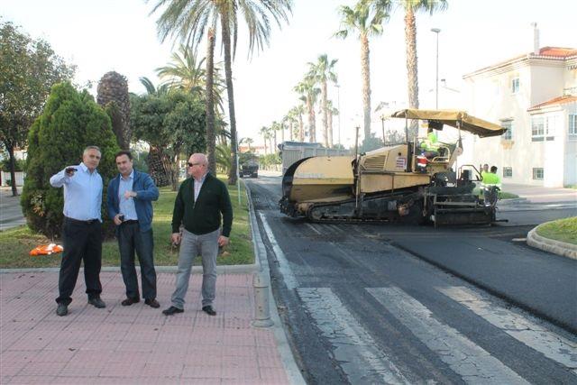 Salobreña acomete obras a cargo de los planes provinciales de Diputación