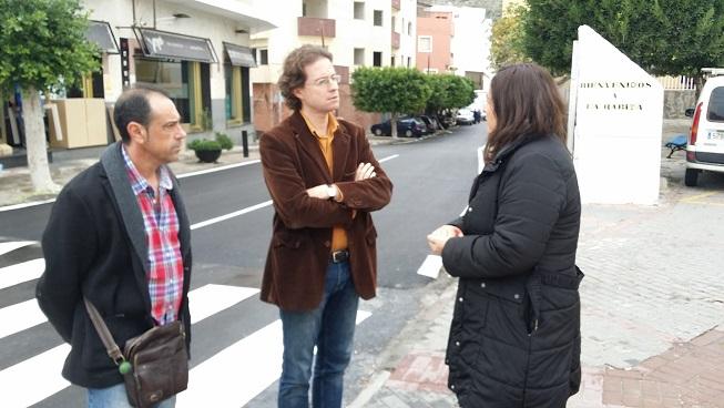 La Junta cede al Ayuntamiento de Albuñol la travesía de La Rábita tras finalizar las obras de acondicionamiento