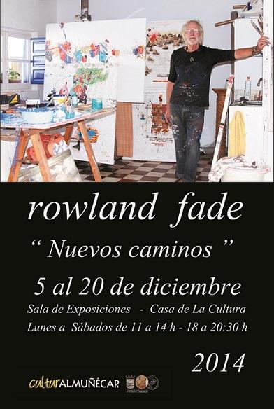 El pintor Rowland Fade inaugura este viernes una exposición en la Casa de la Cultura de Almuñécar