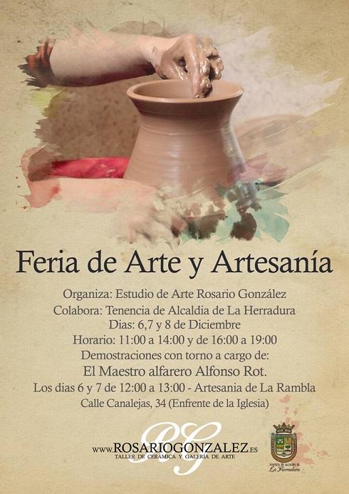 La Herradura celebra este fin de semana la Feria de Arte y Artesanía