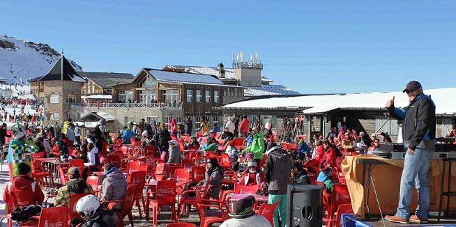 Sierra Nevada cierra el Puente con 21.000 esquiadores y más del 80% de ocupación