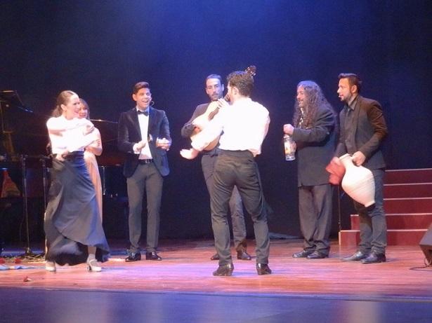 Almuñécar se volcó la copla y el flamenco