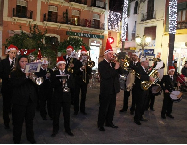 Concierto de Navidad de la Banda Municipal de Almuñécar