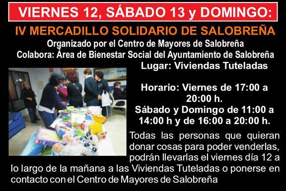Mercadillo solidario en Salobreña