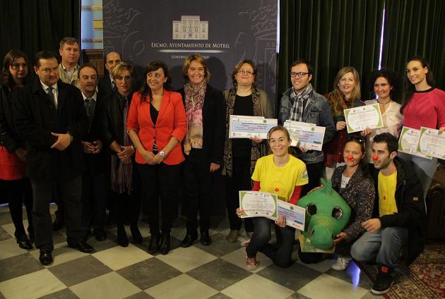 Activos TDH-A, Aprosmo y Divercomba, ganadores de los Premios a Favor de la Infancia de Motril