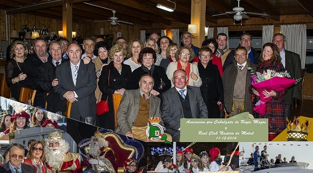 La Asociación Procabalgata de Reyes Magos de Motril celebra una cena de confraternidad