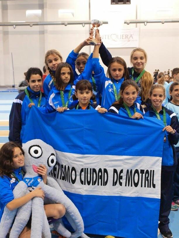 CAMPEONATO ANDALUCÍA CLUBES EN PISTA CUBIERTA, ALEVÍN, INFANTIL Y CADETE