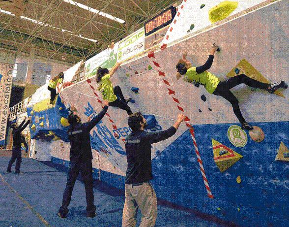 Un centenar de deportistas en el III Open Escalate Ciudad de Motril