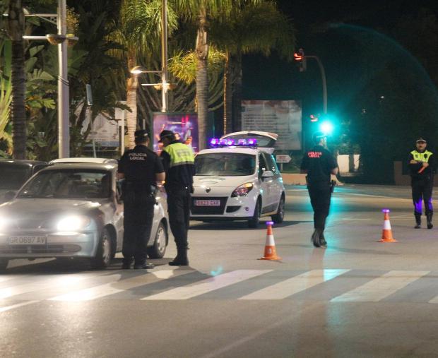 La Policía Local sexitana pone en marcha una campaña de control de alcohol y drogas durante la Navidad