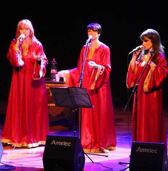 La música góspel inundó anoche la Casa de la Cultura sexitana