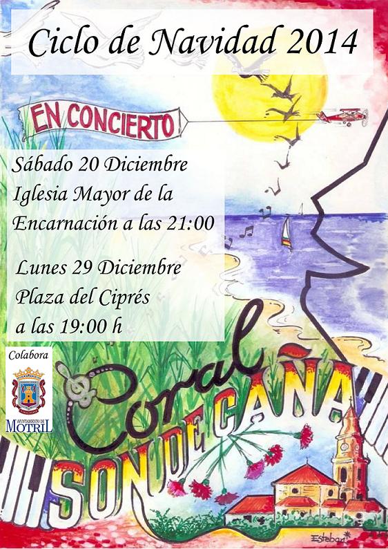 Motril vivirá una navidad musical que arranca este fin de semana con villancicos en la calle y distintos espacios