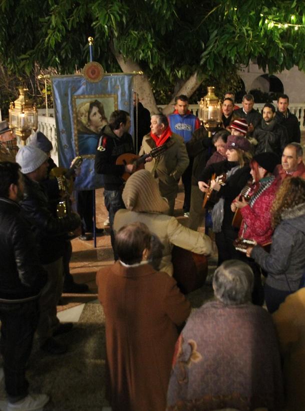 La Herradura ya vive  su tradicional Rosario de la Aurora