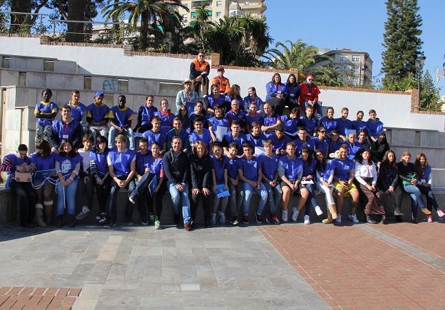 'Los Ángeles de Álvaro' coronan la yincana urbana organizada por Juventud