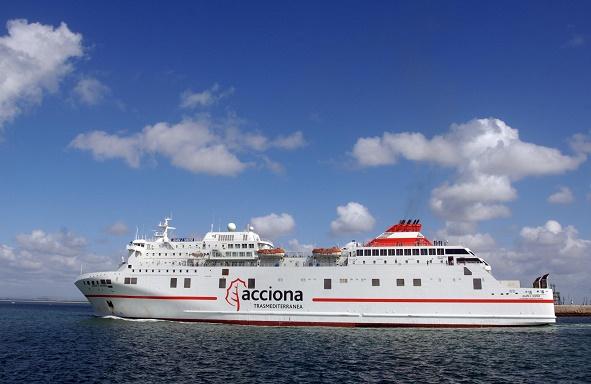 AECOST impugna la licitación de los servicios de las navieras que hacen la ruta Almería y Málaga con Melilla