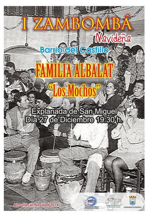 El barrio del Castillo de Almuñécar celebra la I Zambomba Navideña