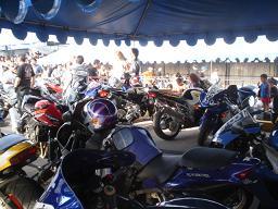 Salobreña acoge una concentración internacional de motos