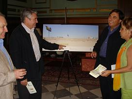 El alcalde de Motril, Pedro Álvarez, anuncia que la ministra de Fomento participará en un curso sobre arquitectura y transportes en Motril