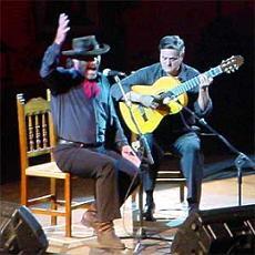 El Cabrero y Luis de Córdoba en el Festival Flamenco de Salobreña